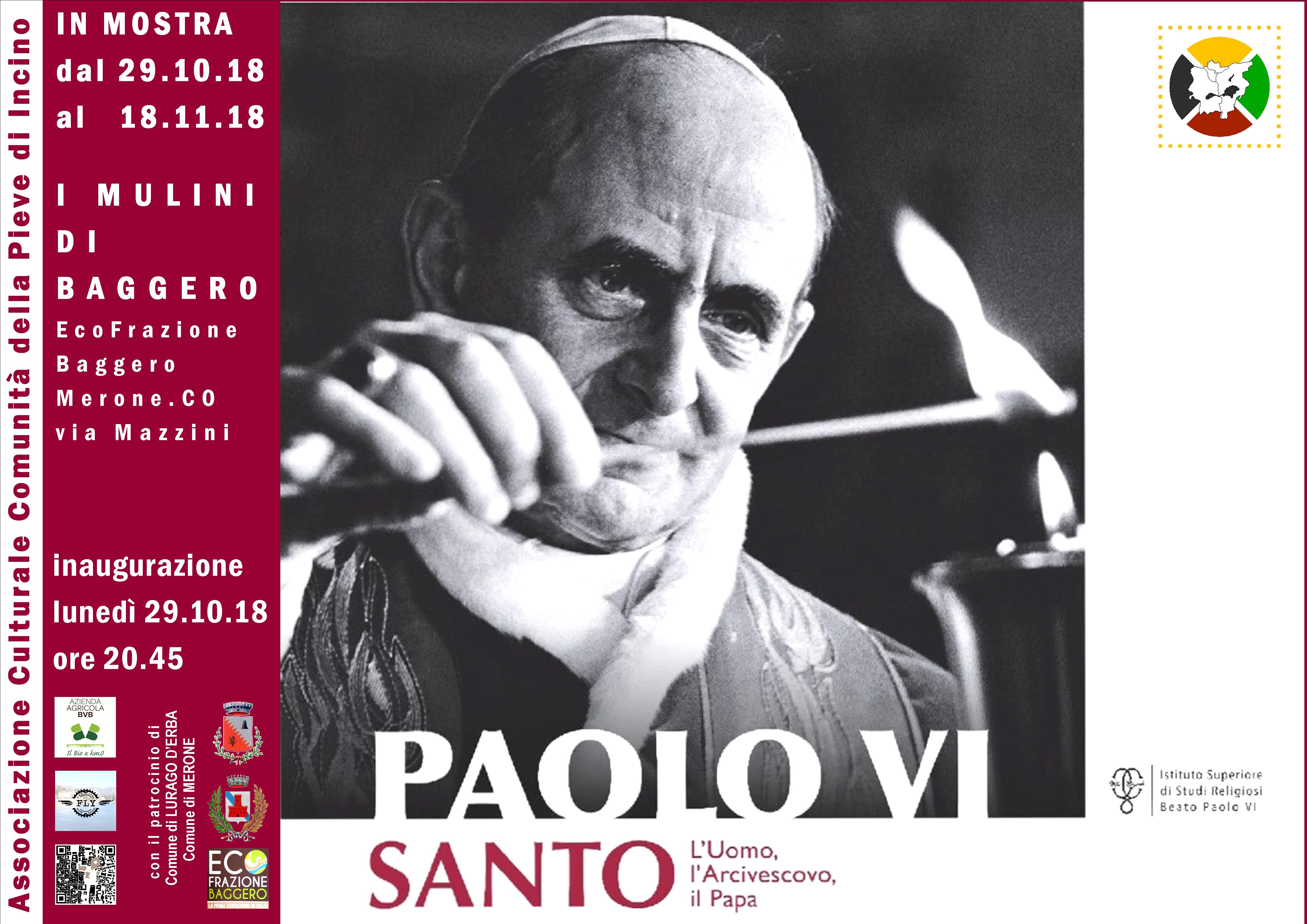 Merone Paolo VI Mostra